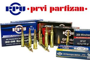 Cartuchos PRVI Partizan