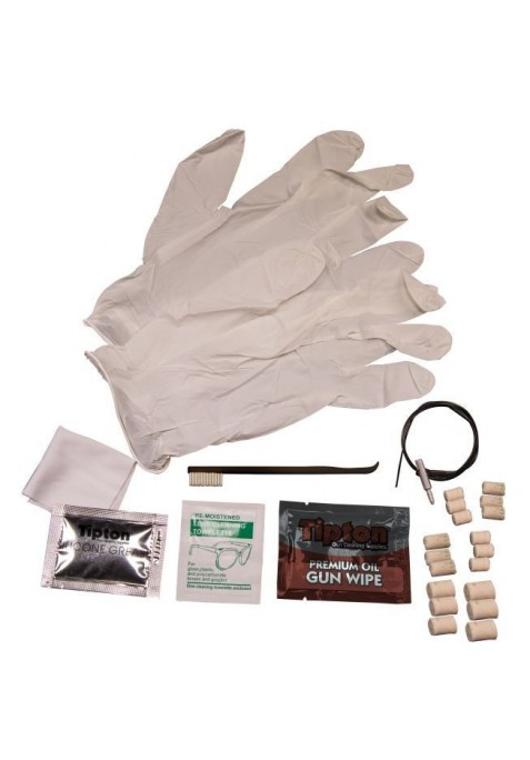 Kit de limpieza M&P para arma larga desechable.