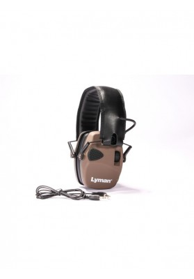 Cascos Lyman Electronic Hearing Protection Color Marrón