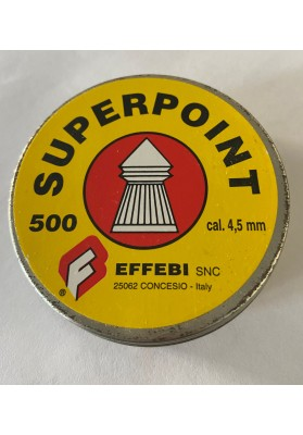 Perdigones  4.5mm aire  Superpoint