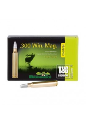 Cart. Brenneke Cal. 300WM -147gr TUG Nature+ 20un