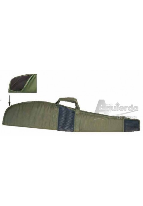 Funda rifle nylon verde  115 cm.