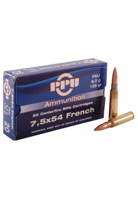 Cart. Prvi. Cal 7,5 x 54 French - 139 FMJ (20 uni)