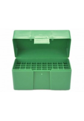 Caja RCBS verde Small Rifle 50 un