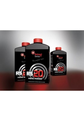 Pólvora RS 20 Pistol Powder (0.5 Kilos)