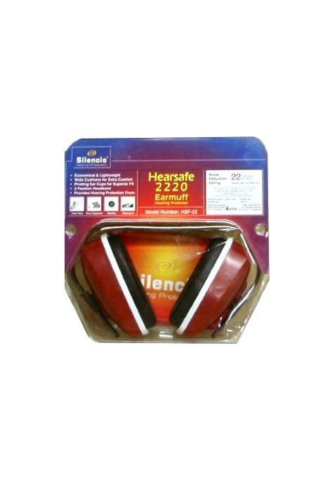 Hearsafe 2220 Rojo