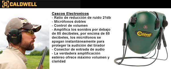 Cascos Electronicos Caldwell 2021