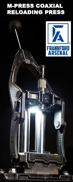 2.021 Nueva prensa de recarga para cazadores y tiradores